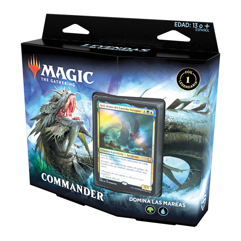 Commander Legends Mazo Domina las Mareas - Magic the Gathering - La Caverna de Voltir