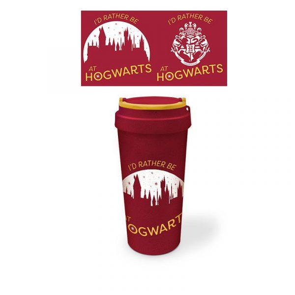 Harry Potter Taza de Viaje Hogwarts La Caverna de Voltir