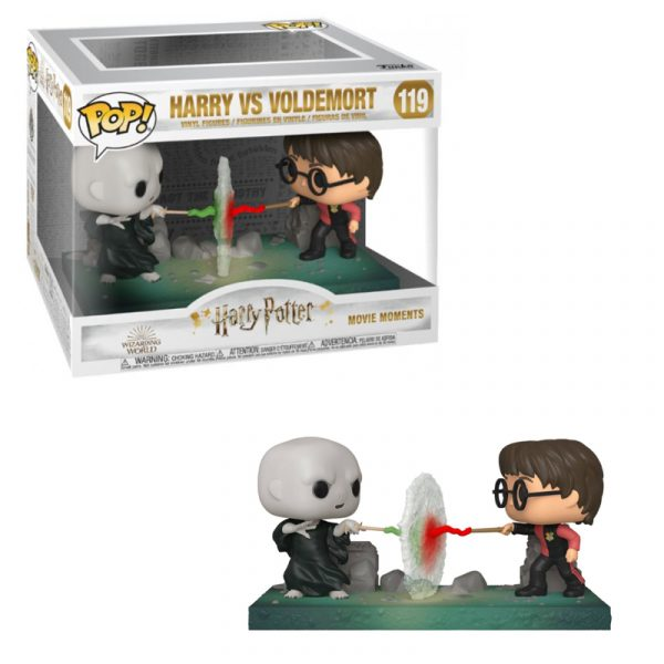 Harry Potter vs Voldemort – Figura Funko Pop! La Caverna de Voltir