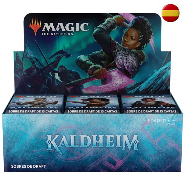 Kaldheim Magic the Gathering Caja 36 sobres - La Caverna de Voltir