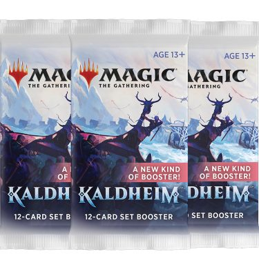 3 Sobres de Colección Kaldheim - Magic the Gathering - La Caverna de Voltir