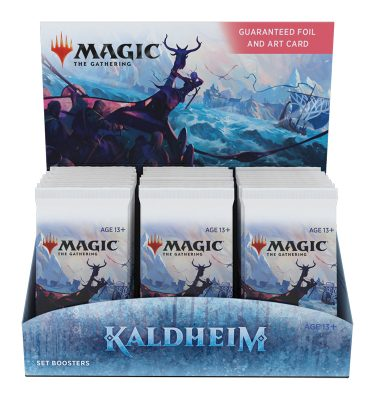 Kaldheim Magic the Gathering Caja de Colección 30 sobres - La Caverna de Voltir
