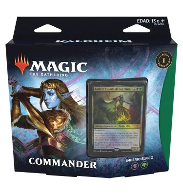 Mazo Comander Kaldheim Imperio Élfico - Magic the Gathering - La Caverna de Voltir