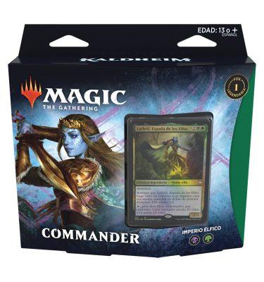 Mazo Comander Kaldheim Imperio Élfico - Magic the Gathering - La Caverna de Voltir