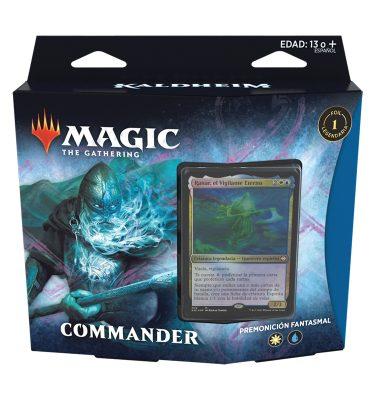 Mazo Commander Kaldheim - Premonición Fantasmal - Magic the Gathering - La Caverna de Voltir