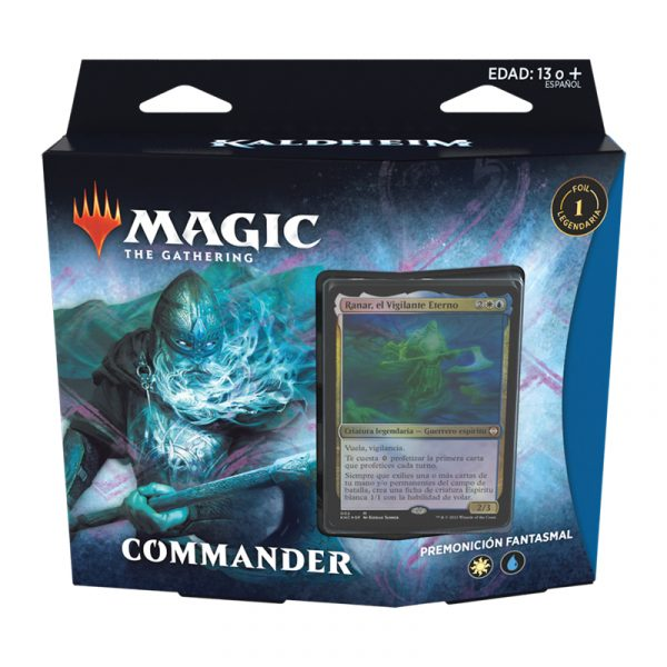 Mazo Commander Kaldheim - Premonición Fantasmal - Magic the Gathering - La Caverna de Voltir