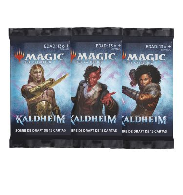 3 Sobres Draft Kaldheim - Magic the Gathering - La Caverna de Voltir