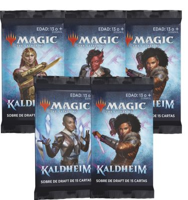 5 Sobres Draft Kaldheim- Magic the Gathering - La Caverna de Voltir