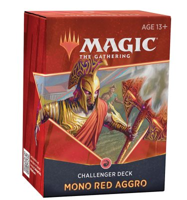 Challenger Decks 2021 Mono Red Aggro - Magic the Gathering - La Caverna de Voltir