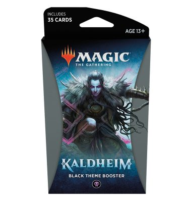 Kaldheim Theme Booster (Black) - Magic the Gathering - La Caverna de Voltir