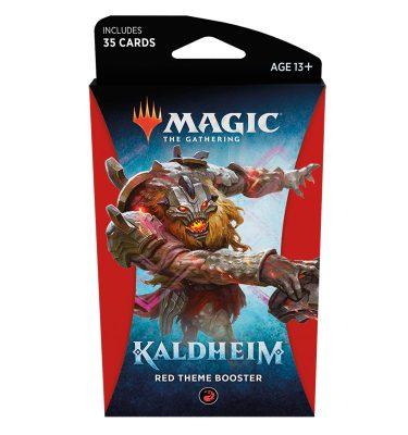 Kaldheim Theme Booster (Red) - Magic the Gathering - La Caverna de Voltir