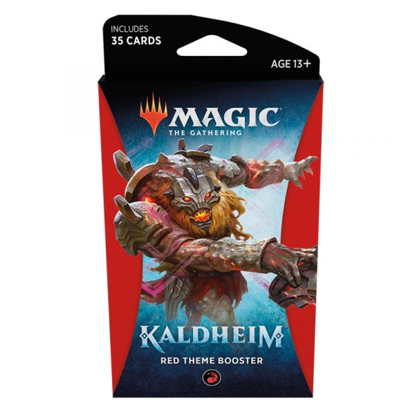 Kaldheim Theme Booster (Red) - Magic the Gathering - La Caverna de Voltir