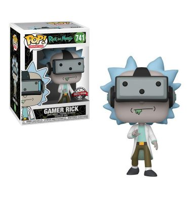 Rick & Morty- Gamer Rick- Funko Pop! - La Caverna de Voltir