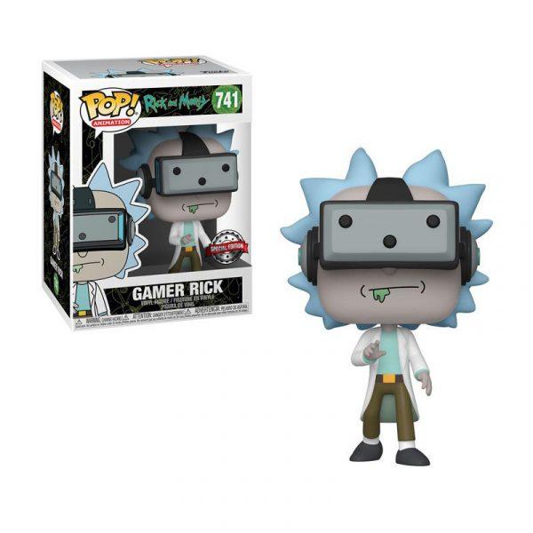 Rick & Morty- Gamer Rick- Funko Pop! - La Caverna de Voltir