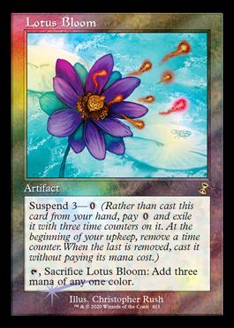 Lotus Bloom - Magic the Gathering- La Caverna de Voltir