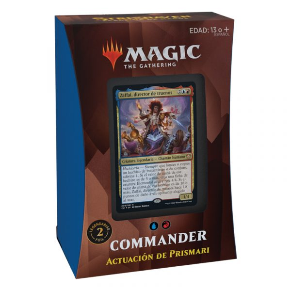 Mazo Actuación de Prismari Commander Strixhaven - Magic the gathering - La Caverna de Voltir