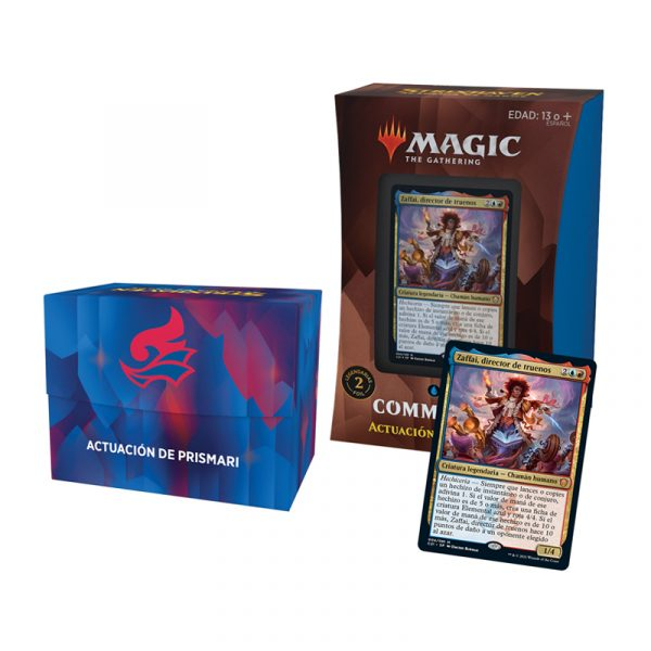 Mazo Actuación de Prismari Commander Strixhaven (español)- Magic the Gathering - La Caverna de Voltir
