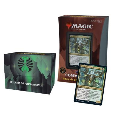 Mazo Brujería de Flosmarcitus Commander Strixhaven - Magic the Gathering - La Caverna de Voltir