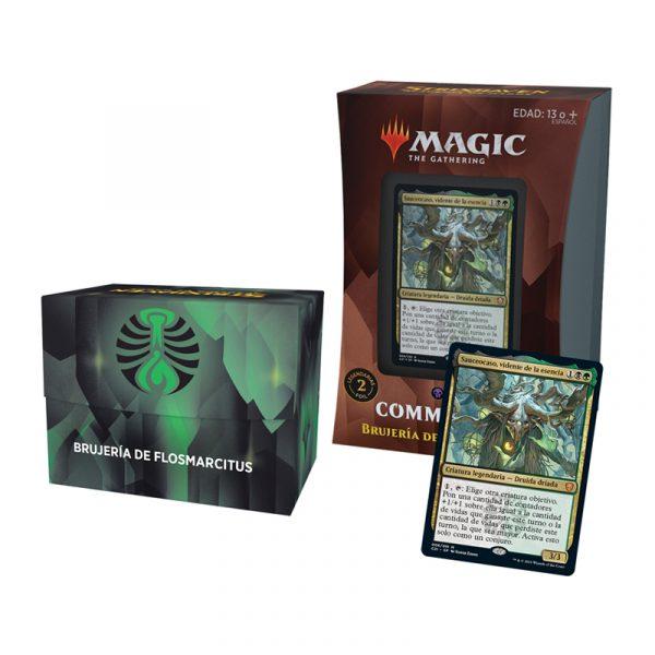 Mazo Brujería de Flosmarcitus Commander Strixhaven - Magic the Gathering - La Caverna de Voltir