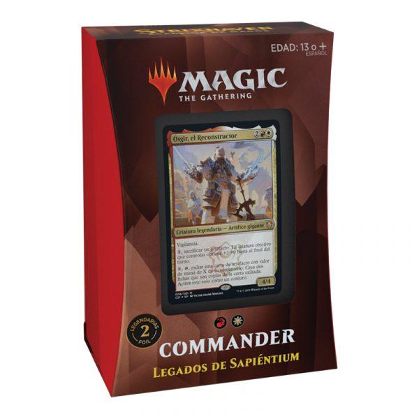 Mazo Legados de Sapiéntum Commander Strixhaven - Magic the Gathering - La Caverna de Voltir
