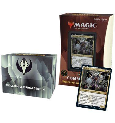 Mazo Proclama de Plumargéntum Commander Strixhaven Academia de Magos - Magic the Gathering - La Caverna de Voltir