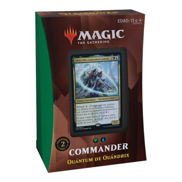 Mazo Quántum de Quádrix Commander Strixhaven - Español- Magic the Gathering - La Caverna de Voltir