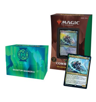 Mazo Quántum de Quádrix Commander Strixhaven - Magic the Gathering - La Caverna de Voltir-