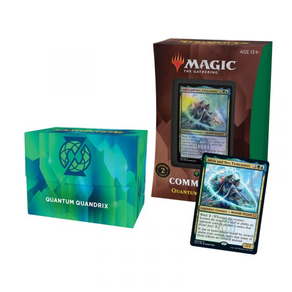 Mazo Quántum de Quádrix Commander Strixhaven - Magic the Gathering - La Caverna de Voltir-