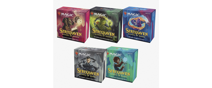 Packs Presentación Strixhaven Academia de Magos - Magic the Gathering - La Caverna de Voltir