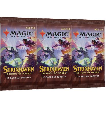 Strixhaven Academia de Magos 3 Sobre de Edición (inglés)- Magic the Gathering - La Caverna de Voltir