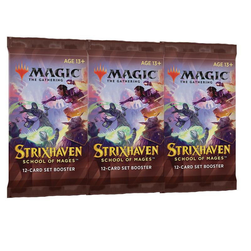 Strixhaven Academia de Magos 3 Sobre de Edición (inglés)- Magic the Gathering - La Caverna de Voltir
