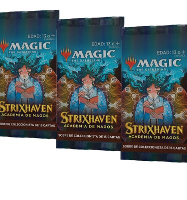 Strixhaven: Academia de Magos 3 Sobres Coleccionista - Magic the Gathering - La Caverna de Voltir