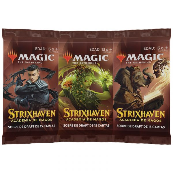 Strixhaven Academia de Magos- 3 Sobres Draft (español) - Magic the Gathering - La Caverna de Voltir