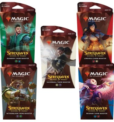 Strixhaven Academia de Magos- 5 Theme Booster - Magic the Gathering - La Caverna de Voltir