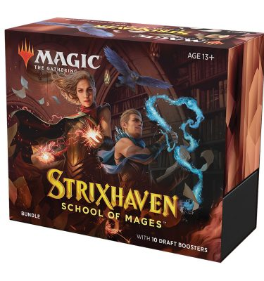 Strixhaven Academia de Magos Bundle (inglés) Magic the Gathering- La Caverna de Voltir