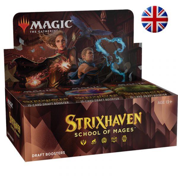 Strixhaven Academia de Magos- Caja 36 sobres (español) - Magic the Gathering - La Caverna de Voltir