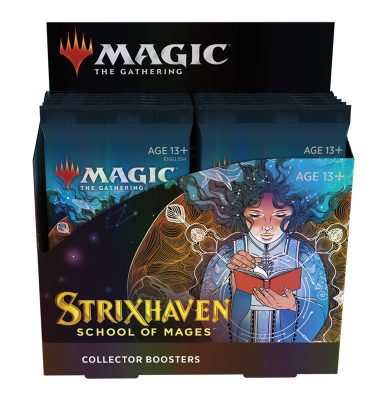 Strixhaven: Academia de Magos Caja Coleccionista12 Sobres - Magic the Gathering - La Caverna de Voltir