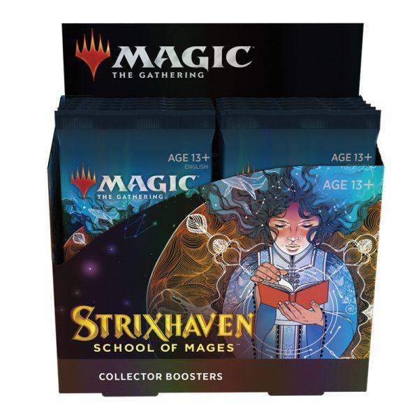 Strixhaven: Academia de Magos Caja Coleccionista12 Sobres - Magic the Gathering - La Caverna de Voltir