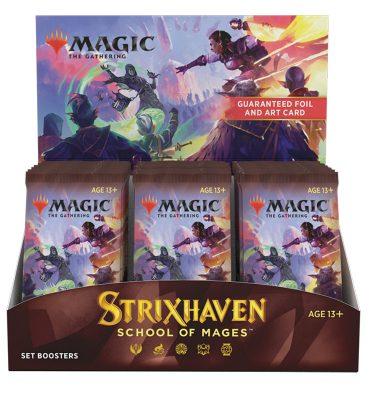 Strixhaven: Academia de Magos Caja de Edición 30 Sobres (inglés) - Magic the Gathering - La Caverna de Voltir