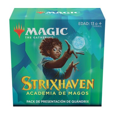 Strixhaven Academia de Magos- Pack Presentación Quándrix - Magic the Gathering - La Caverna de Voltir