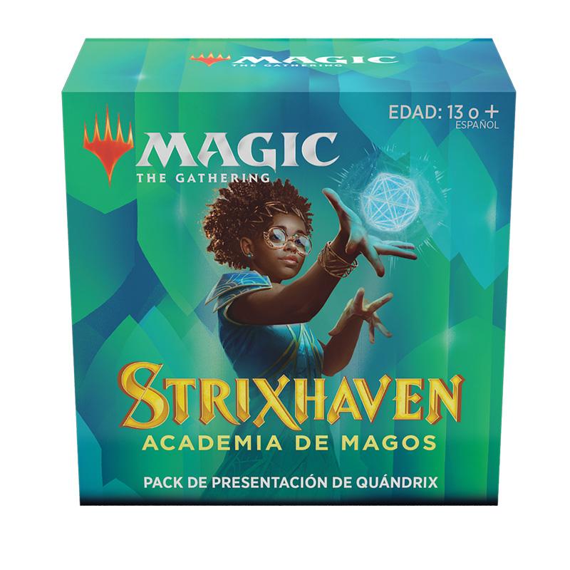 Strixhaven Academia de Magos- Pack Presentación Quándrix - Magic the Gathering - La Caverna de Voltir