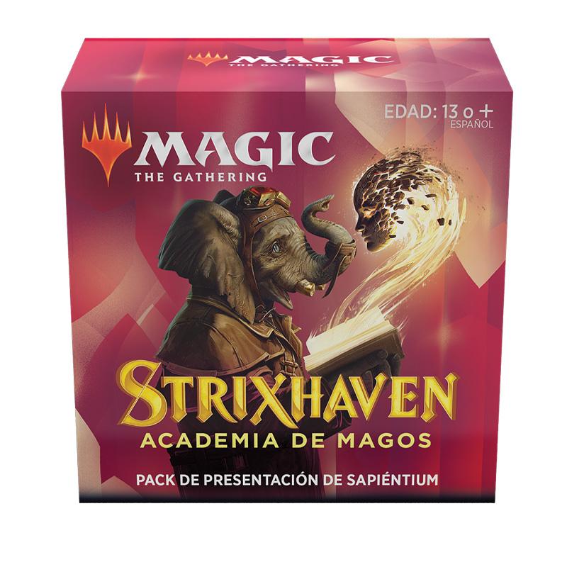 Strixhaven Academia de Magos- Pack Presentación Sapiéntium - Magic the Gathering - La Caverna de Voltir