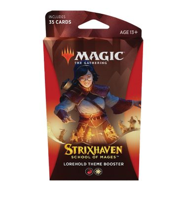 Strixhaven Academia de Magos- Theme Booster (Lorehold) Magic the Gathering - La Caverna de Voltir