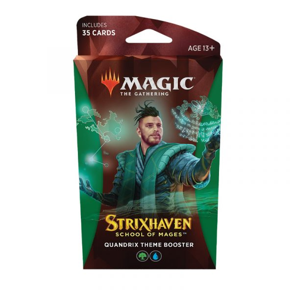 Strixhaven Academia de Magos- Theme Booster (Quandrix) Magic the Gathering - La Caverna de Voltir