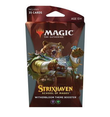 Strixhaven Academia de Magos- Theme Booster (Witherbloom) Magic the Gathering - La Caverna de Voltir