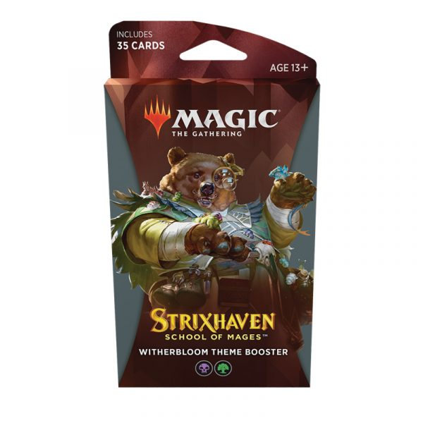 Strixhaven Academia de Magos- Theme Booster (Witherbloom) Magic the Gathering - La Caverna de Voltir