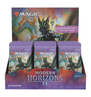 Horizontes de Modern – Caja de Edición (30 sobres) - Magic the Gathering - La Caverna de Voltir