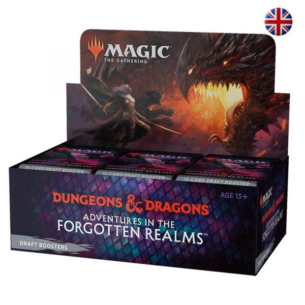 Caja Sobres Draft (ing) - Aventuras en Forgotten Realms