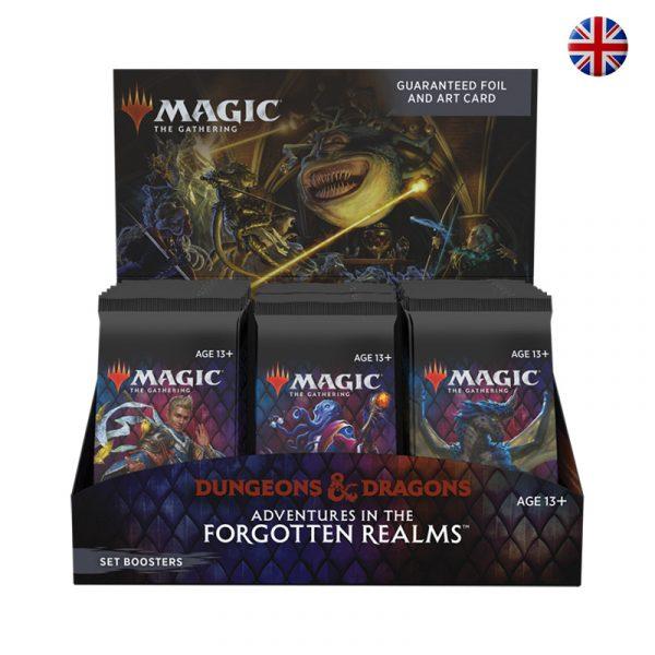 Caja Sobres Edición Aventuras en Forgotten Realms - Magic the Gathering - La Caverna de Voltir