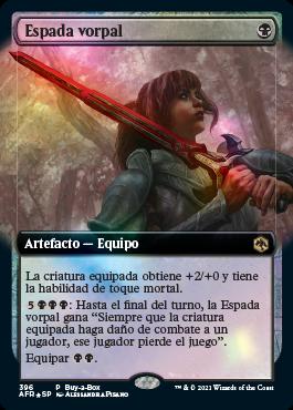 Espada Vorpal - Magic the Gathering - La caverna de Voltir